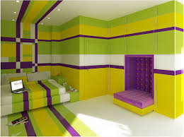 Small Picture The Kings Cake Bedroom Purple Green Yellow Behance Network