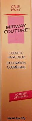 Wella Midway Couture Color Chart Details About Wella Midway Couture Demi Plus Hair Color