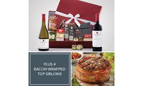 when you send a gift this great they won t be surprised that it s from omaha steaks this package includes our plete wine charcuterie deluxe gift box