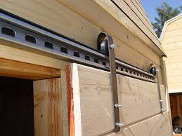 garage door for shedMake Sliding Barn Doors Using Skateboard Wheels 7 Steps with