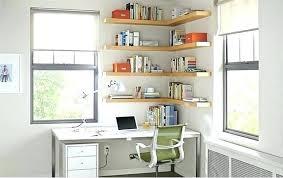 home office shelf ideas float wood wall
