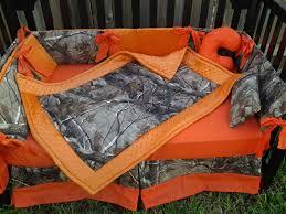 image of nice camo crib bedding sets