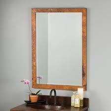 mirror. Milano Copper Rectangular Wall Mirrors Mirror