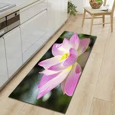Großhandel Floral Küche Teppiche Lotus Badematte 3d Sofa