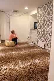 fun chic zebra print rug
