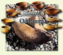 ancient oil lamps