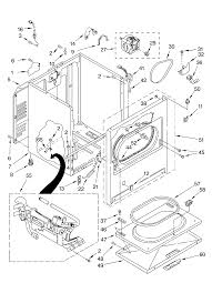 Kenmore residential dryer parts model 11074742400 sears schematic