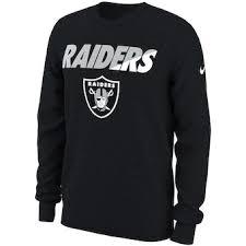 T-shirt Black Performance Nike Sleeve Oakland Sideline Raiders Property Of Long fefbeacea|Oakland Raiders History