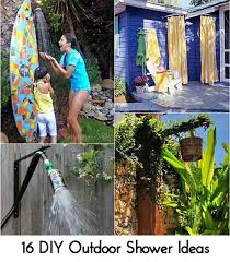 16 diy outdoor shower ideas photo credit apieceofrainbow