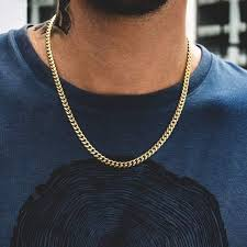 Tennis Chain Size Chart 5mm Miami Cuban Link Chain In 2019 Gold Chains For Men