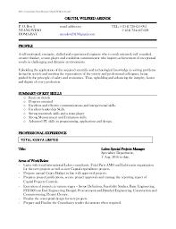 Team Skills Resume My Cv Resume Reviewed