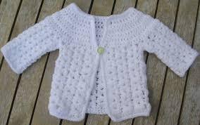 Free Crochet Baby Sweater Patterns Delectable Sammy's Stitches Newborn Baby Cardi