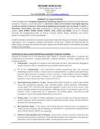 Resume Templates For It Browse Experience Resume Template Sample Resume Format For 21