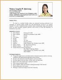 English Curriculum Vitae Modele De Cv Francais Pdf Unique English Cv Model Pdf