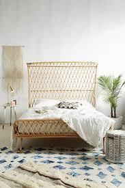 Bedroom: Natural Rattan Headboard Decoration - Headboard Bedrooms