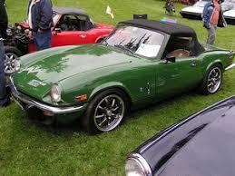 spitfire car. triumph spitfire - great ev conversion! car