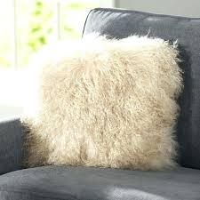 mongolian fur rug fur throw fur throw pillow fur throw rug faux fur throw mongolian curly