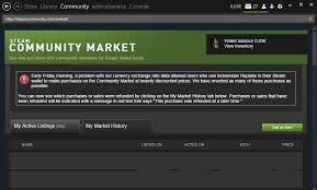 psa market is currently broken please discuss here steam