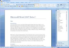 How To Find Resume Template On Microsoft Word 2007 Quick review of Microsoft Office Word 100 View from the Potting 85
