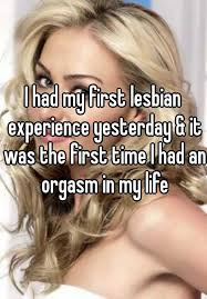 Her first time lesbian experience