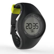 w200 m men digital timer sport watch black green decathlon w200 m men digital timer sport watch black green