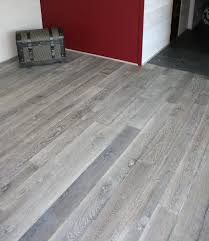 gray wood floor | Old Grey / Reclaimed engineered floor / Hand-made wood  floors