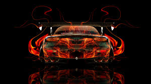 mazda rx7 abstract car