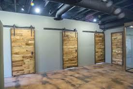 office barn doors. Office Barn Doors Vintage Basement Space 2