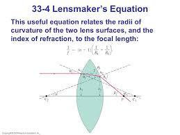 33 4 lensmaker s equation