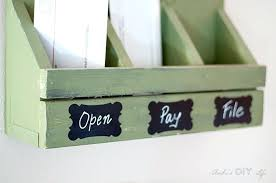 wall mounted mail organizer and sorter station this would be a fun gift idea hanging mount target easy
