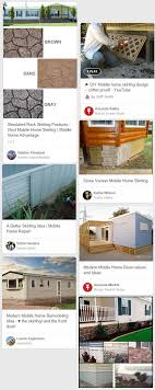 types of mobil home skirting