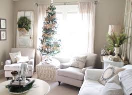 Living Room Decorating For Christmas Home Decoration Festive Christmas Front Door Decor Fir Leaves