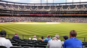 seat view for comerica park section 104