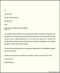 Following Up On Job Interview Thank You Letter After Not Getting The Job Following Up After A Job