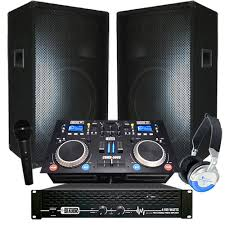sound system packages. dj system sound packages