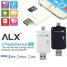 i flash ios card reader otg iphone ipad mac usb micro sd 32gb iflash