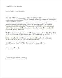 experience letter sample 5 example work experience letter ismbauer
