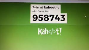 kahoot it game pin let s do this type this in and then create a nickname not use name it can t be it