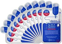 MEDIHEAL <b>N.M.F Aquaring Ampoule Mask</b> Pack of 10: Amazon.co ...