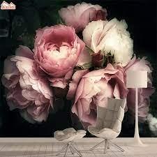 Nature Rose 3d Photo Wallpaper Mural ...