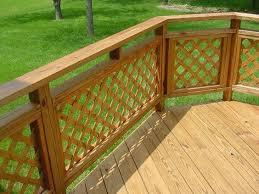 decorative deck railing designs ideas