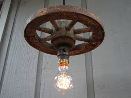 rustic pendant lighting fixtures. vintage pendant lighting farmhouse rustic light barn wagon wheel lamp fixtures