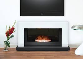 Adam Carrera Fireplace Suite in Pure White, 48 Inch | Electric ...
