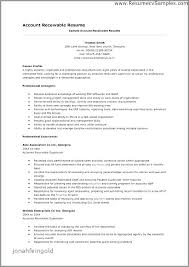 Accounts Receivable Resume Sample Accounts Receivable Resume Samples Simple Account Receivable Resume