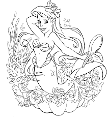 Small Picture Disney Princesses Coloring Pages Printable unique Disney