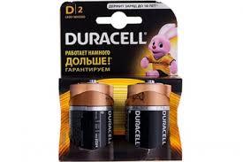 Долгоиграющая батарейка <b>тип D</b> LR20 (2 шт.), Duracell, США
