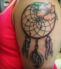 Hawaiian Dream Catcher Hawaiian Dream Catcher tattoo Tattoos Pinterest Catcher 13