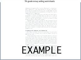 7th Grade Essay Writing 7th Grade Essay Writing Worksheets Home Workout No Equipment App