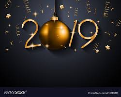 New Year Backgrounds 2019 Happy New Year Background For Your Seasonal Vector Image