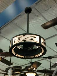 i spotted this ceiling fan with a drum shade at lowe s recently it was the only style they carried but makes me think there may be more options in the